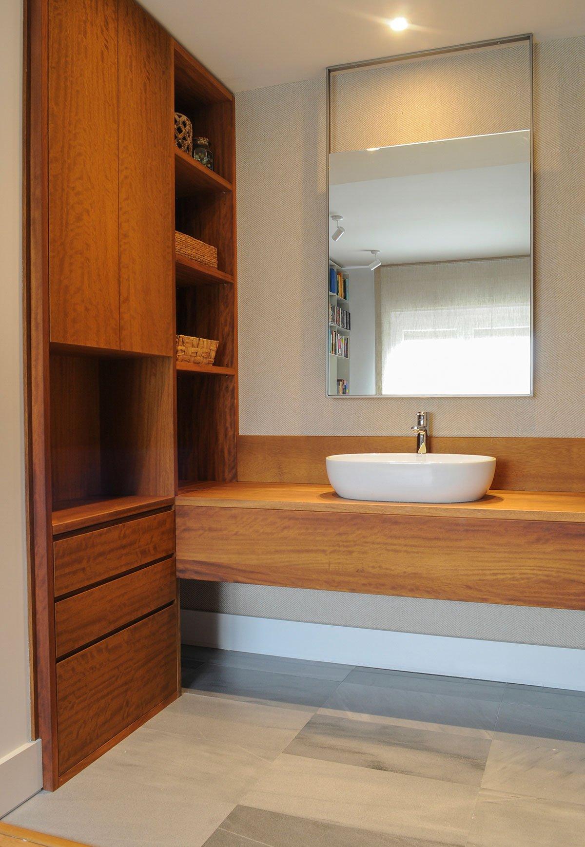 Baño en madera